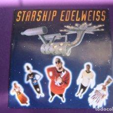 Discos de vinilo: EDELWEISS SG WEA 1992 - STARSHIP EDELWEISS +1 ELECTRONICA DISCO - EURO HOUSE - SIN USO. Lote 168517252
