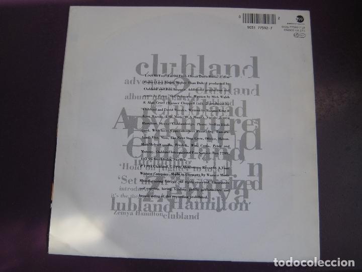Discos de vinilo: Clubland + Zemya Hamilton Sg EASTWEST 1992 - Set Me Free (I'm On Fire) +1 - ELECTRONICA DISCO HOUSE - Foto 2 - 168517424