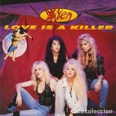 Discos de vinilo: VIXEN - LOVE IS A KILLER. Lote 168522944