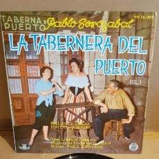 Dischi in vinile: LA TABERNERA DEL PUERTO / VOL. 1 / COROS LÍRICOS DE HISPAVOX / EP - HISPAVOX-1961 / MBC. ***/***. Lote 168536780