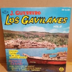 Discos de vinilo: LOS GAVILANES. VOL. 1 / CORO CANTORES DE MADRID / EP - HISPAVOX-1961 / MBC. ***/***. Lote 168537208