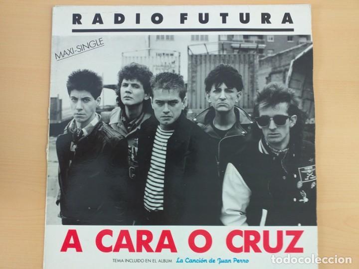 RADIO FUTURA - 37 GRADOS - A CARA O CRUZ (MX) 1987 (Música - Discos de Vinilo - Maxi Singles - Grupos Españoles de los 70 y 80)
