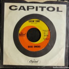 Discos de vinilo: BUCK OWENS // CRYIN TIME+1//CAPITOL// MADE IN USA// (VG VG).SINGLE. Lote 168550936