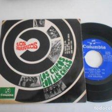 Discos de vinilo: LOS BRAVOS-EP LOS CHICOS CON LAS CHICAS +3. Lote 168558340