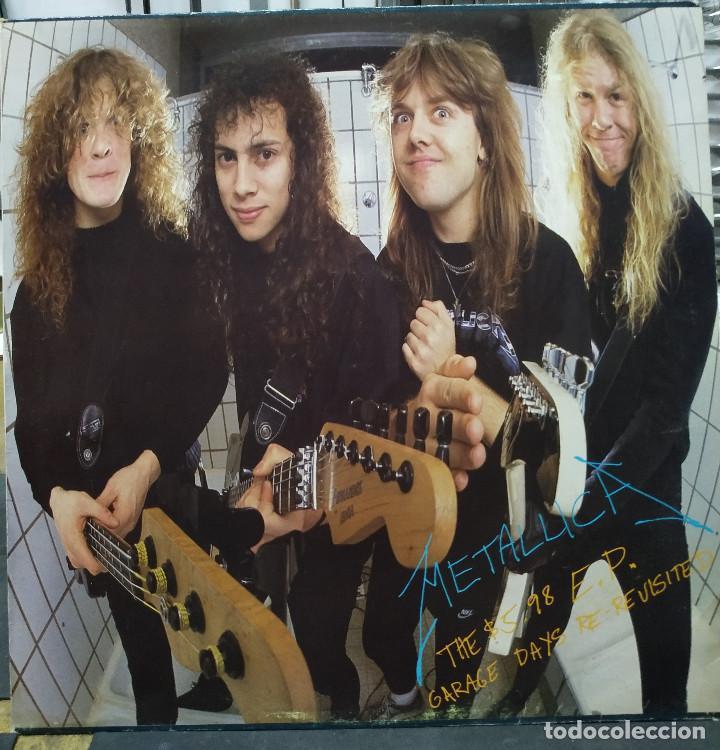 METALLICA THE $ 5.98 E.P. GARAGE DAYS REVISITED (Música - Discos de Vinilo - EPs - Heavy - Metal)
