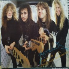 Discos de vinilo: METALLICA THE $ 5.98 E.P. GARAGE DAYS REVISITED. Lote 168560496
