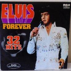 Discos de vinilo: ELVIS PRESLEY - ELVIS FOREVER 32 HITS R C A 2 LP´S -1974 GAT. Lote 168561804