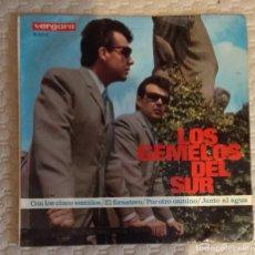 Discos de vinilo: SINGLE LOS GEMELOS DEL SUR. Lote 168563892