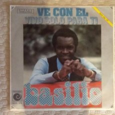 Discos de vinilo: SINGLE BASILIO. Lote 168565212