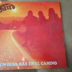 Discos de vinilo: CAIN -UN PASO MAS EN EL CAMINO - LP VINILO AVISPA. SPAIN 1991 - BUEN ESTADO. Lote 168565265