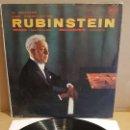 Discos de vinilo: RUBINSTEIN / GRIEG-CONCIERTO EN LA MENOR OP. 16 / LP - RCA-AÑOS '50 / MBC. ***/***. Lote 168568696