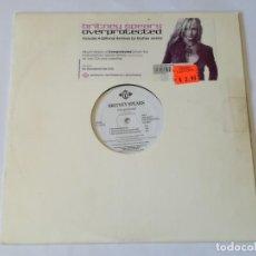 Discos de vinilo: BRITNEY SPEARS - OVERPROTECTED - 2002. Lote 206790740