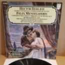 Discos de vinilo: HECTOR BERLIOZ-FELIX MENDELSSOHN / GRANDES COMPOSITORES Nº 12 / LP-PHILIPS / MBC. ***/***. Lote 168569796