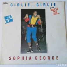 Discos de vinilo: SOPHIA GEORGE / WINNER ALL STARS - GIRLIE GIRLIE / GIRL RUSH - 1986. Lote 168574784