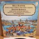 Discos de vinilo: BÉLA BARTÓK / MÚSICA PARA CUERDAS, PERCUSIÓN Y CELESTA / GRANDES COMPOSITORES 92 / LP / MBC. ***/***. Lote 168577240