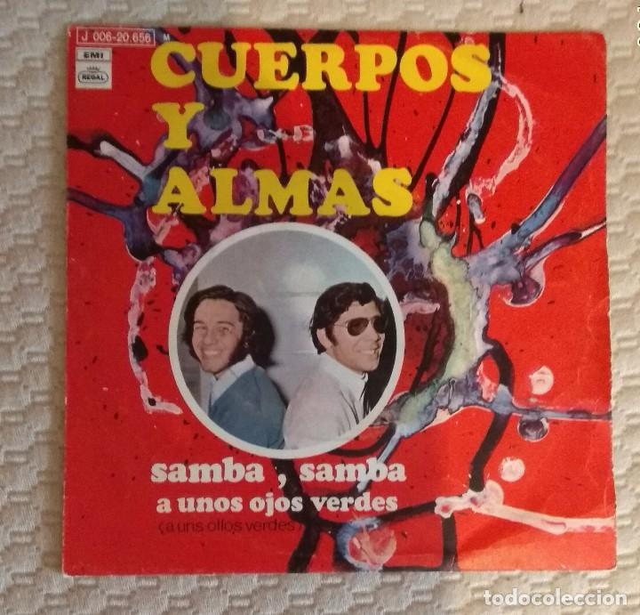 SINGLE CUERPOS Y ALMAS (Música - Discos - Singles Vinilo - Otros estilos)