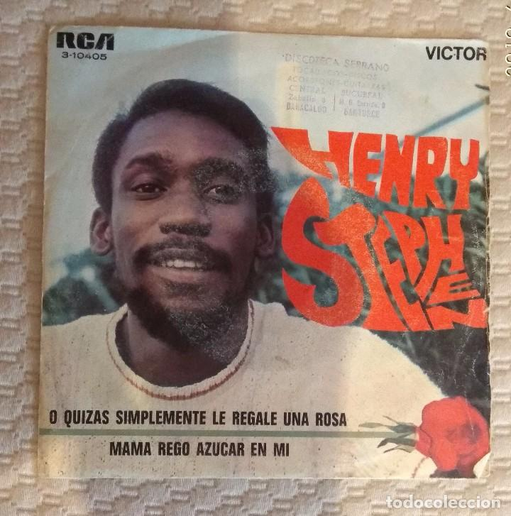 SINGLE HENRY STEPHEN (Música - Discos - Singles Vinilo - Otros estilos)