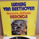 Discos de vinilo: L.V.BEETHOVEN / 3ª SINFONIA-HEROICA / LP - GRAMUSIC-1973 / MBC. **/***. Lote 168581936
