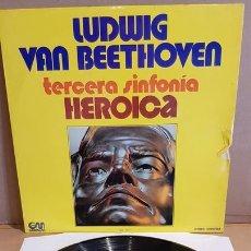 Discos de vinilo - L.V.BEETHOVEN / 3ª SINFONIA-HEROICA / LP - GRAMUSIC-1973 / MBC. **/*** - 168581936