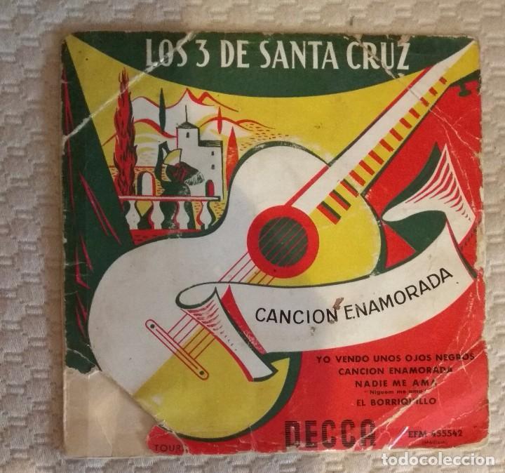 SINGLE LOS 3 DE SANTA CRUZ (Música - Discos - Singles Vinilo - Otros estilos)