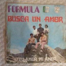 Discos de vinilo: SINGLE FORMULA V. Lote 168582060