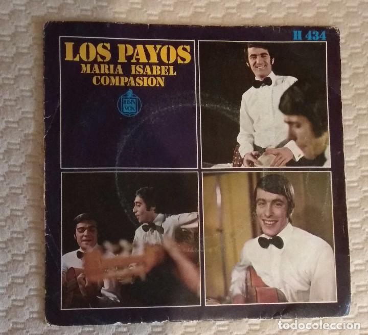 SINGLE LOS PAYOS (Música - Discos - Singles Vinilo - Otros estilos)