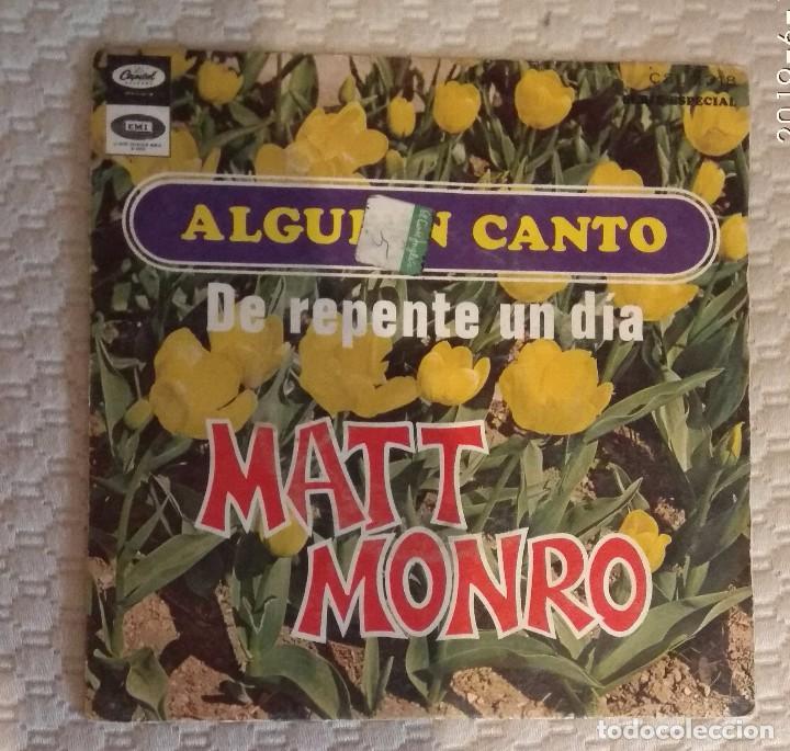 SINGLE MATT MONRO (Música - Discos - Singles Vinilo - Otros estilos)
