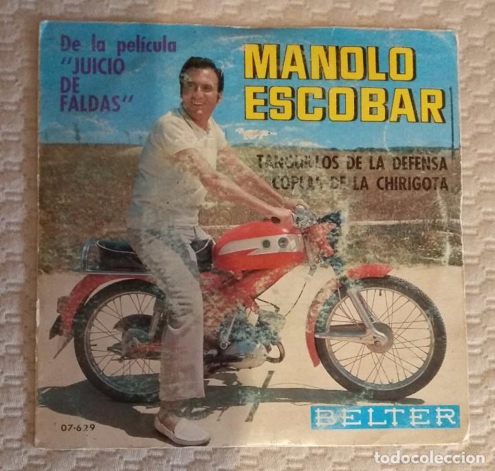 SINGLE MANOLO ESCOBAR (Música - Discos - Singles Vinilo - Otros estilos)
