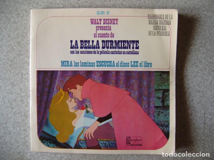 WALT DISNEY.LA BELLA DURMIENTE...CUENTO DISCO (Música - Discos - Singles Vinilo - Música Infantil)