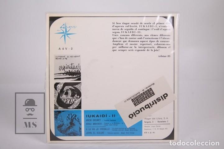 Discos de vinilo: Disco EP De Vinilo - Iukaidí II / John el Soldat, Anem Grumet.. - Als 4 Vents - 1967 - Con Letras - Foto 4 - 168595813