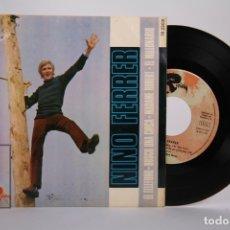 Discos de vinilo: DISCO EP DE VINILO - NINO FERRER / EL TELEFONO, BUSCO UNA CHICA...- RIVIERA - AÑO 1967. Lote 168596204