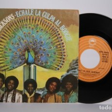 Discos de vinilo: DISCO SINGLE DE VINILO - THE JACKSONS / ECHALE LA CULPA AL BOOGIE - EPIC - AÑO 1979. Lote 168596378