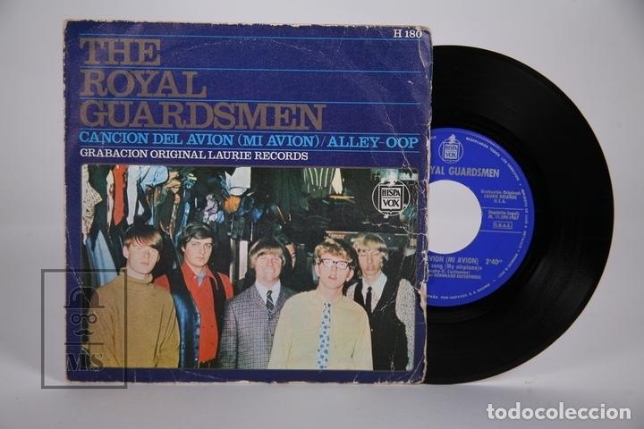 DISCO SINGLE DE VINILO - THE ROYAL GUARDSMEN / CANCION DEL AVIÓN, ALLEY-OOP - HISPA VOX - AÑO 1967 (Música - Discos - Singles Vinilo - Pop - Rock Extranjero de los 50 y 60)
