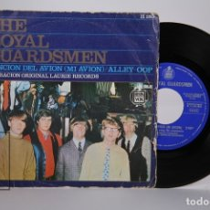 Discos de vinilo: DISCO SINGLE DE VINILO - THE ROYAL GUARDSMEN / CANCION DEL AVIÓN, ALLEY-OOP - HISPA VOX - AÑO 1967. Lote 168596565
