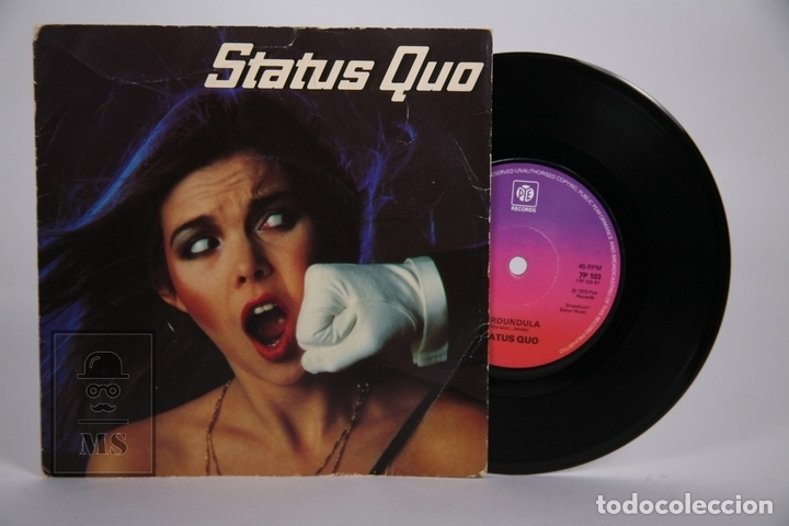 DISCO SINGLE DE VINILO - STATUS QUO / IN MY CHAIR, GERDUNDULA - PYE RECORDS - AÑO 1970 - INGLATERRA (Música - Discos - Singles Vinilo - Pop - Rock - Extranjero de los 70)