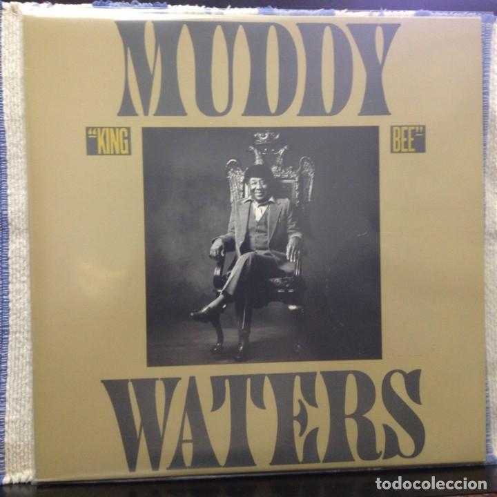MUDDY WATERS - KING BEE / LP VINILO 1981 SPAIN. NM-NM (Música - Discos - LP Vinilo - Jazz, Jazz-Rock, Blues y R&B)