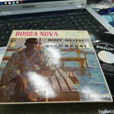 Discos de vinilo: DIZZY GILLESPIE EP BOSSA NOVA CHEGA DE SAUDADE + 2 ESPAÑA 1963. Lote 168617146