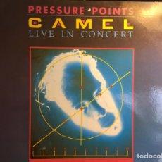 Discos de vinilo: CAMEL: LIVE IN CONCERT (LP) (EXCELENTE ESTADO). Lote 168617916