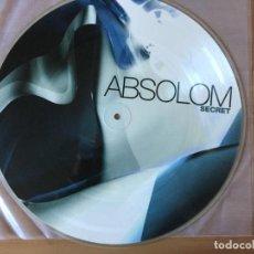 Discos de vinilo: ABSOLOM. SECRET (VINILO LP 2004). Lote 168621868