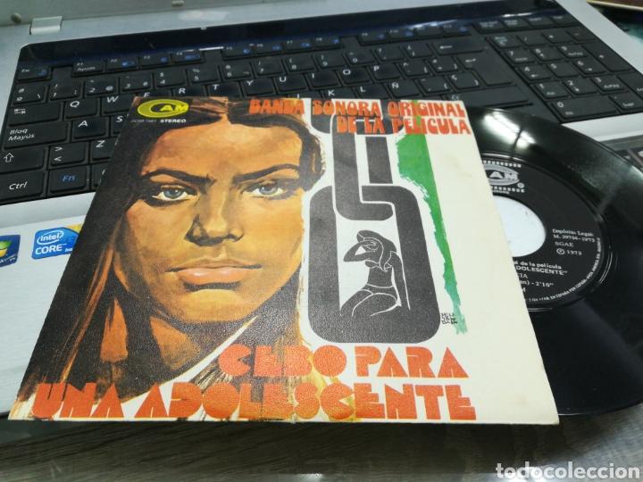 ALFONSO SANTISTEBAN SINGLE BSO CEBO PARA UNA ADOLESCENTE ESPAÑA 1973 (Música - Discos - Singles Vinilo - Bandas Sonoras y Actores)
