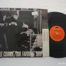 Discos de vinilo: VINILO LP - THE STYLE COUNCIL / OUR FAVORITE SHOP / POLYDOR. Lote 168628764
