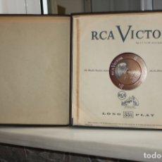 Discos de vinilo: VERDI, FALSTAFF COMPLETE. ARTURO TOSCANINI. 3 LPS + LIBRETO EN SU ESTUCHE. RCA VICTOR 6111. Lote 168632320