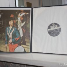 Discos de vinilo: DONIZETTI, LA FILLE DU REGIMENT.SUTHERLAND-PAVAROTTI-MALAS-SINCLAIR.2 LPS + LIBRETO EN CAJA.DECCA. Lote 168633236