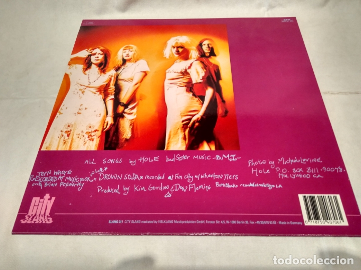 Discos de vinilo: HOLE -TEENAGE WHORE- (1991) MAXI-SINGLE 12 - Foto 8 - 168636176