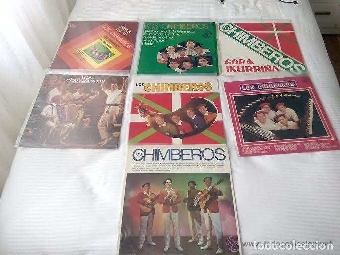 LOS CHIMBEROS / LOTE 7 LP 33 RPM (Música - Discos - LP Vinilo - Grupos Españoles 50 y 60)