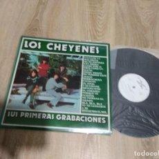 Discos de vinilo: LOS CHEYENES / SUS PRIMERAS GRABACIONES / LP 33 RPM / AMIGOS DEL DISCO 1980 COMO NUEVO. Lote 168636420