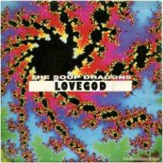 Discos de vinilo: THE SOUP DRAGONS – LOVEGOD - SG PROMO SPAIN 1990 - POLYDOR SOUP DRAGONS -1. Lote 168643188