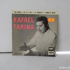 Discos de vinilo: RAFAEL FARINA . Lote 168650772
