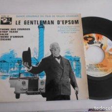 Discos de vinilo: MICHEL LEGRAND-EP BSO DEL FILM LE GENTLEMAN D'EPSOM. Lote 168670652