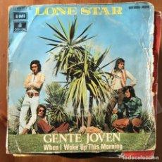 Discos de vinilo: LONE STAR - GENTE JOVEN - SINGLE EMI 1972. Lote 168675804